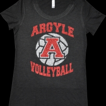 ARGYLE VOLLEYBALL SHIRT