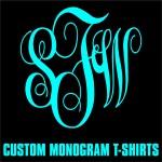Custom Monogram T-Shirts