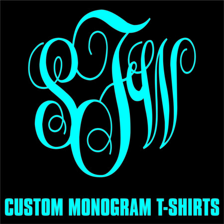 Custom Monogram T-Shirts