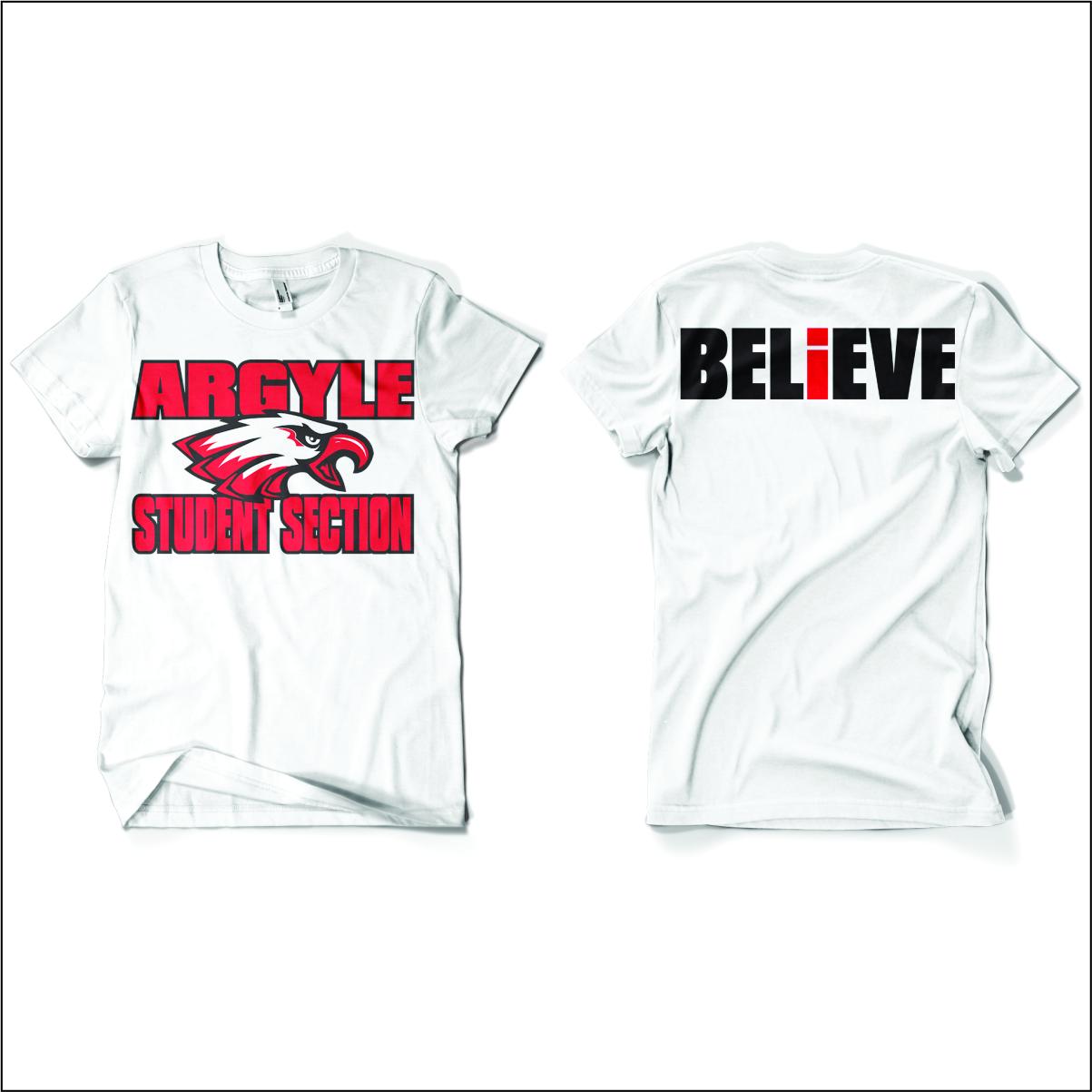argyle student section t shirt flipdog sportswear argyle student section shirt for store