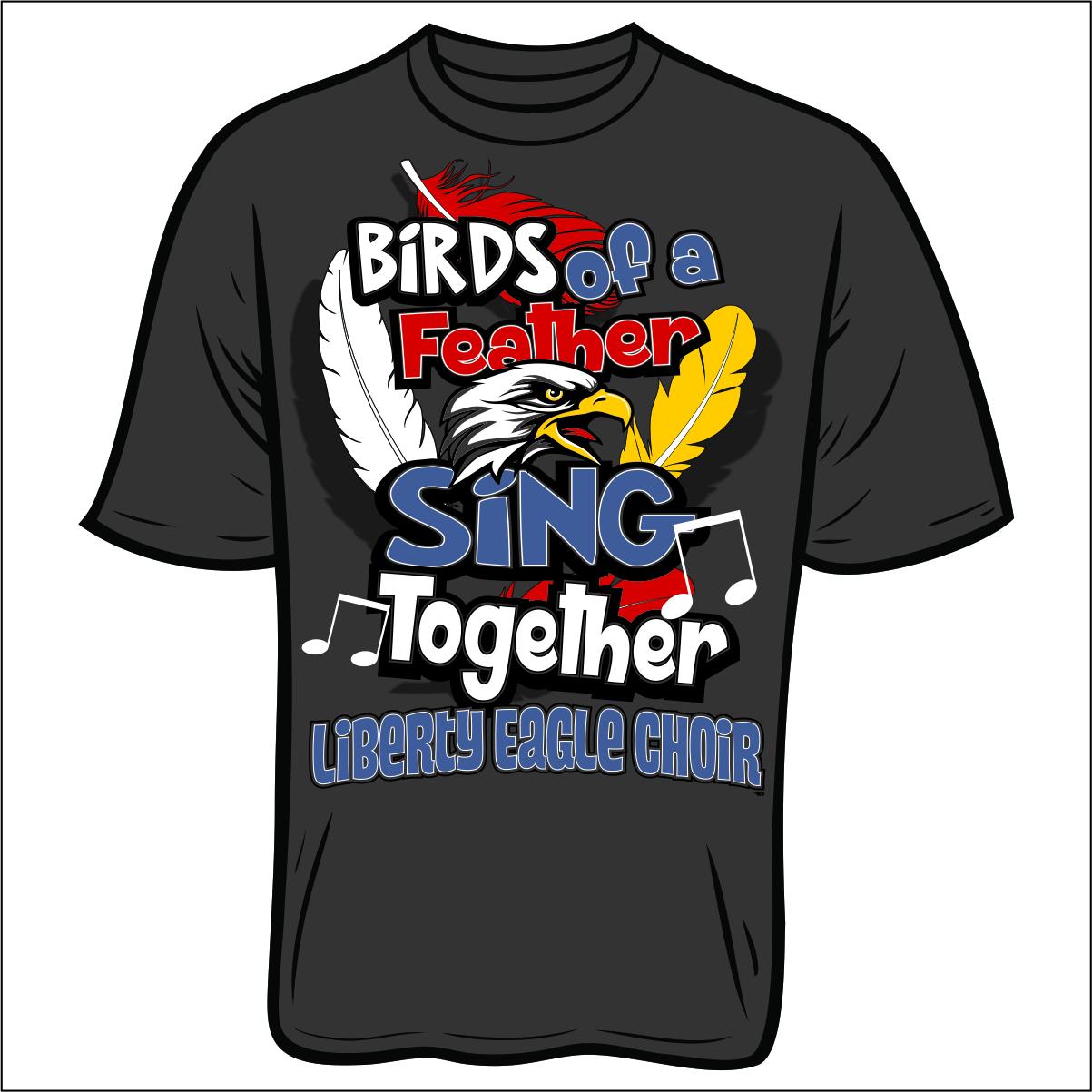 liberty elementary choir t shirt flipdog sportswear liberty choir shirt for store
