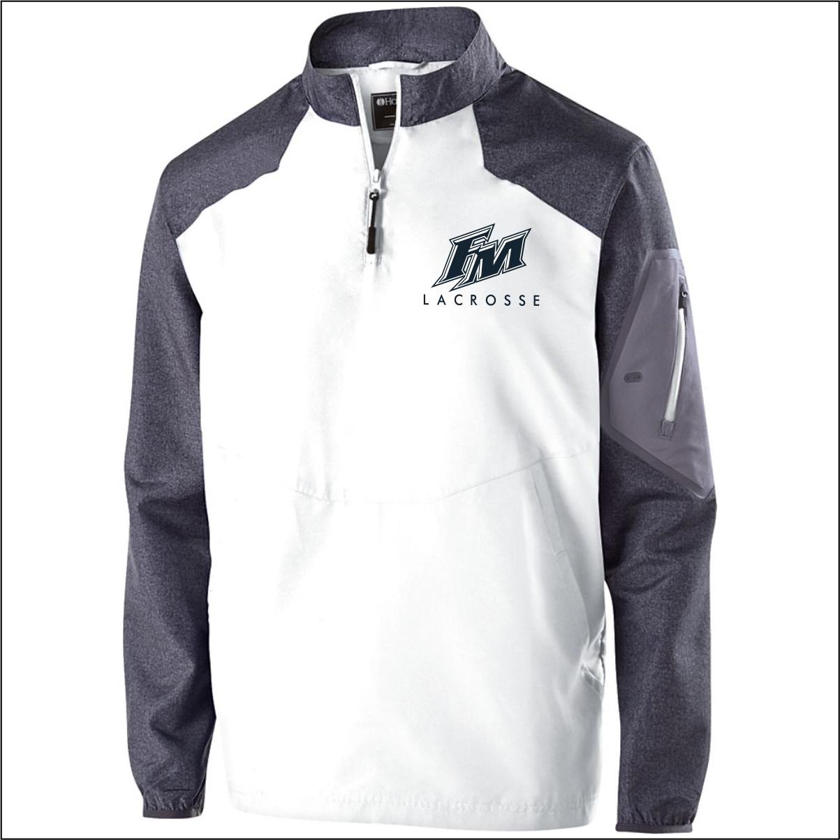 flower mound lacrosse holloway raider pullover flipdog sportswear raider pullover white