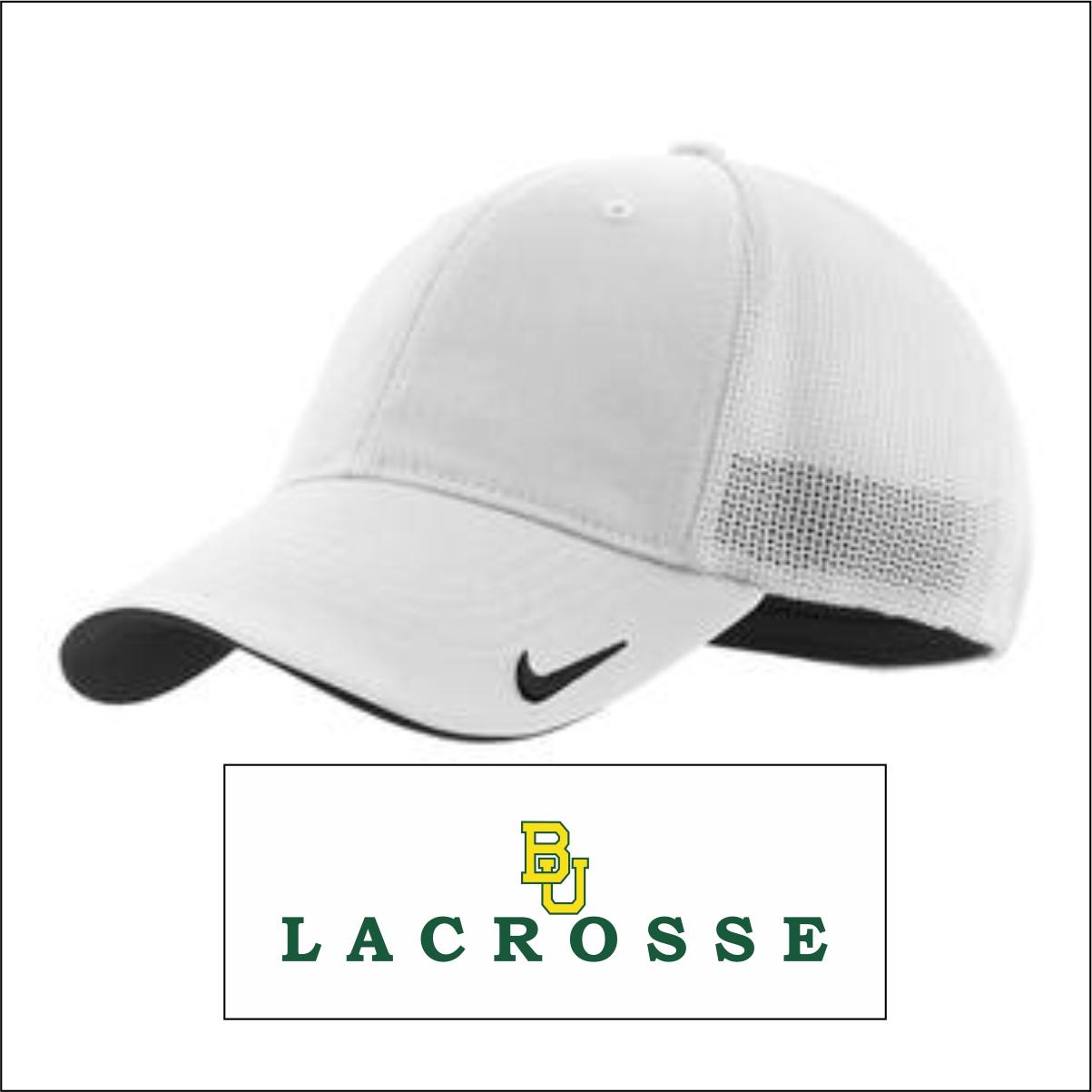 f224b913f20 Baylor Lacrosse Nike Golf - Mesh Back Cap - FlipDog Sportswear
