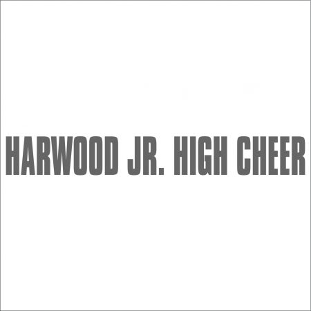 Harwood Jr. High Cheerleaders