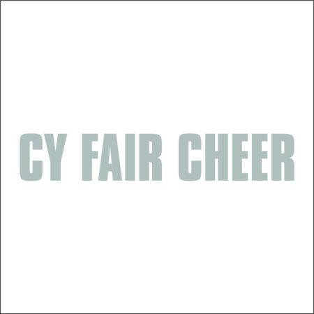 CY FAIR CHEER